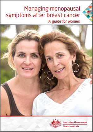 Managing menopausal symptoms after breast cancer a guide for women