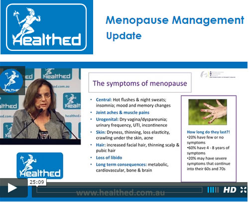 Menopause Management Update BS
