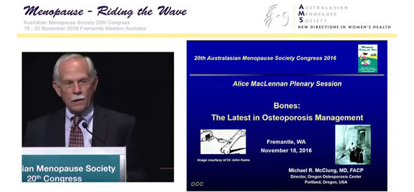 Bones: The latest in osteoporosis management