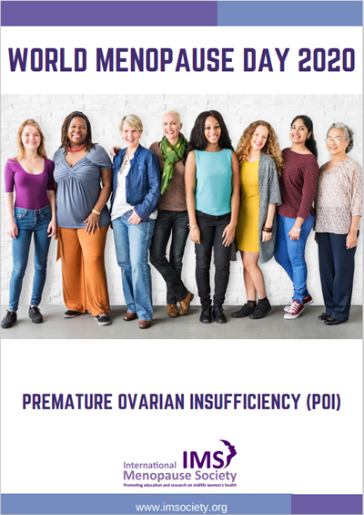 Premature Ovarian Insufficiency International Menopause Society White Paper