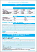 Toolkit for Management of the Menopause example4